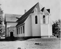 The First Unitarian Church of Danvers. It later became the First Community Church of Danvers and, finally, the Unitarian-Universalist Church of Danvers.